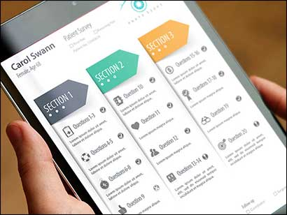 Surgiorithm, UX/UI design and Prototyping by MojoMediaPros, Inc.