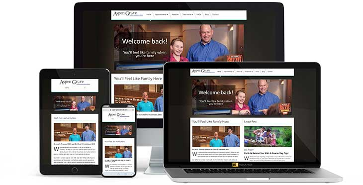 Aspen Grove Dental Associates Website by MojoMediaPros Inc