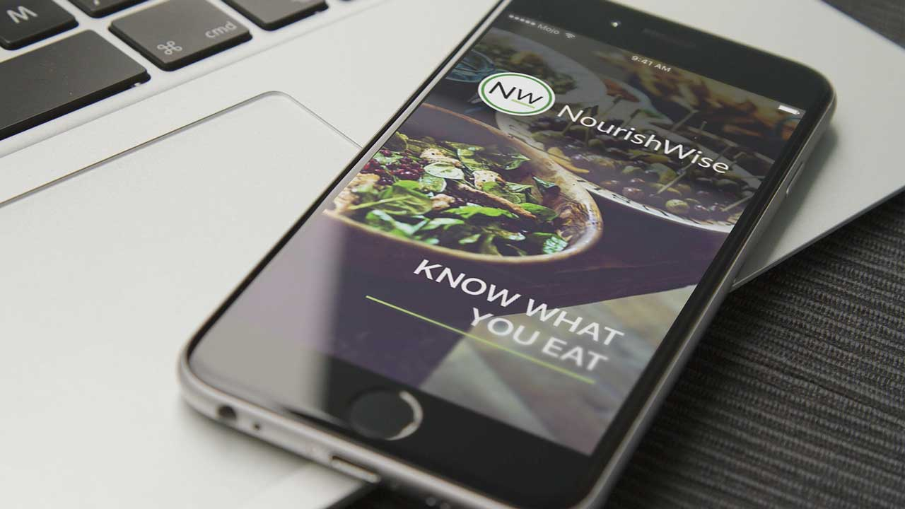 Nourishwise iPhone App, UX/UI design and Prototyping by MojoMediaPros, Inc.
