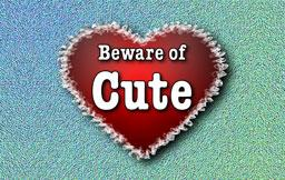 Beware of Cute | editorial graphic | MojoMediaPros Nashville