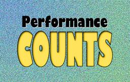 Performance Counts  | editorial graphic | MojoMediaPros Nashville