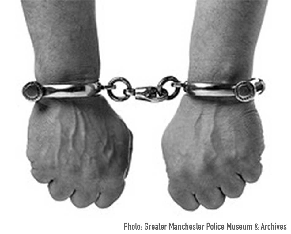 creative-hand-cuffs (Photo: Greater Manchester Police Museum & Archives)