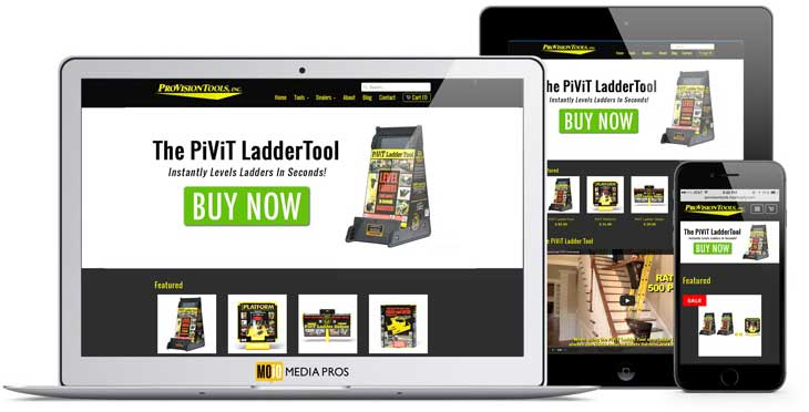 ProVisionTools, Inc. Website by MojoMediaPros Inc