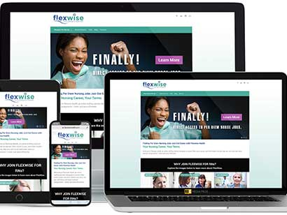 Flexwise Health Website by MojoMediaPros Inc